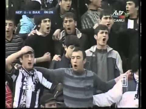 Neftchi Baku fans (23.04.2011 Neftçi - Bakı)