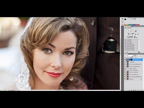 Professional Photoshop Portrait Retouching - Part IX - Sharpening and Enhancing Details