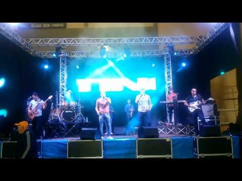 Sangue Latino no show de bandas em Seara SC.