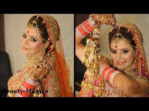 Real Asian Bridal Makeup - Simple And Subtle Look - Complete Hair And Makeup