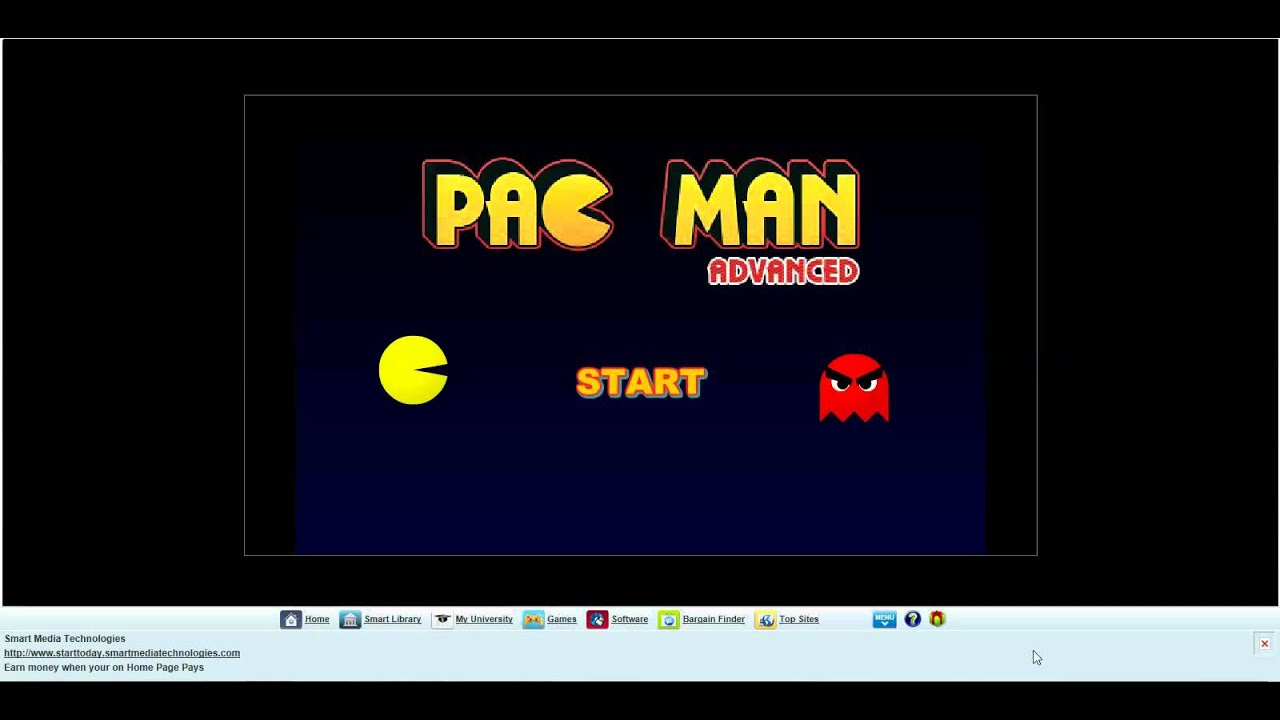 Pac Man Online Game 110
