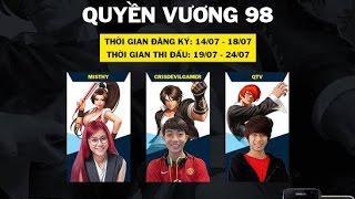 Quyền Vương 98   CrisDevilGamer leo rank để đánh bại Misthy và QTV