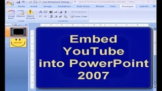 Embed  Video Into PowerPoint 2007
