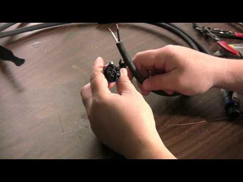 Speakon Connector Installation M4v Youtube