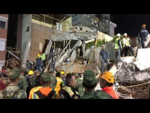 المكسيك: 226 قتيلا على الأقل في زلزال قوي يضرب وسط البلاد