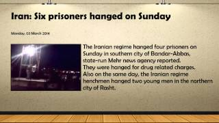 [2 Men Hanged in IRAN For 'Unlawful Acts' | Public Hangings i...] Video