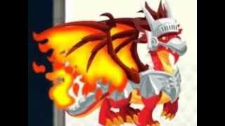 Dragon City Combinaciones (fuego Fresquito,armadillo