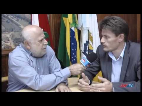 Entrevista com o Prefeito de Benedito Novo