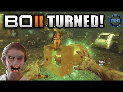 """TURNED"" Zombies LIVE w/ Ali-A - Black Ops 2 Revolution Gameplay - NEW COD BO2 DLC, Full ""TURNED"" Zombies LIVE w/ Ali-A! Enjoy! :D ● Peacekeeper SWARM game - http://tinyurl.com/bbxp9tm ● Die Rise Zombies gameplay - http://tinyurl.com/bg3lfsd..."