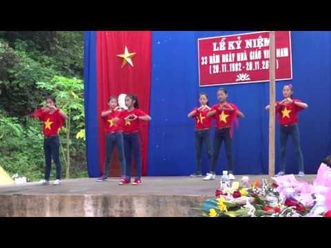 Nhảy Flash Mob - Việt Nam Ơi - Kỷ niệm ngày nhà giáo Việt Nam - Tốp múa tiểu học Đức Long