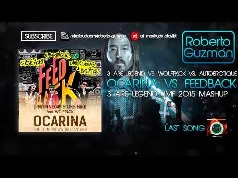 3 Are Legend vs. Wolfpack vs. Autoerotique - Ocarina vs. Feedback (3 Are Legend UMF 2015 Mashup)