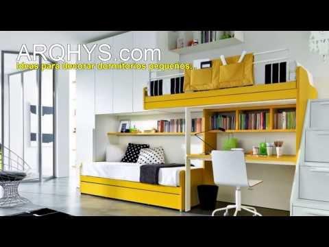 Ideas para decorar mejor un cuarto bien peque o for Programa decoracion habitaciones
