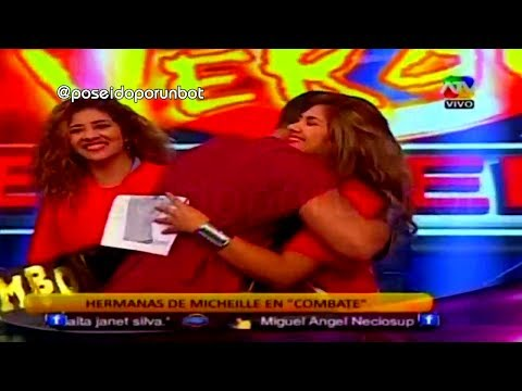 COMBATE: Las Hermanas de Michelle Soifer Acompañan a Erick Sabater 14/01/14