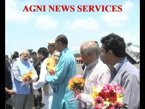 SRINAGAR.. PM NARENDRA MODI ARRIVES SRINAGAR.