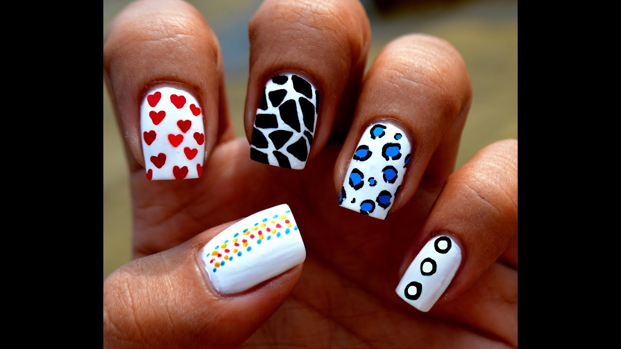 Nail Art At Home Toothpick Nail Art Designs