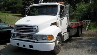 2002 Sterling Acterra Wrecker Cummins Diesel Start Up, Engine, And In Depth Tour