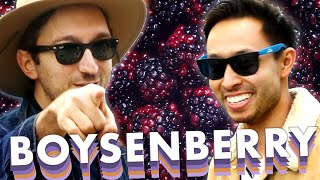 Ryan and Shane Eat Everything Boysenberry At Knott's Berry Farm