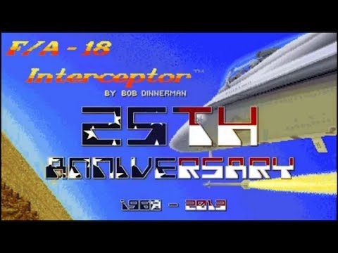 F/A-18 Interceptor Commodore AMIGA 25th Anniversary