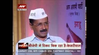 Khari Khari: Arvind Kejriwal is Aam Aadmi Party's CM candidate -- Part 1