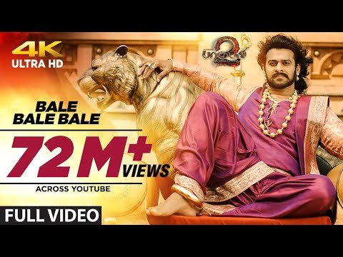 Bale Bale Bale Full Video Song - Baahubali 2