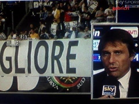 Juventus Cagliari 3 0 Conte battuto record Inter, il saluto ai tifosi