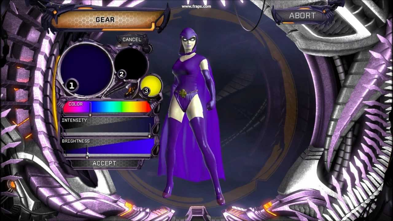 Dc Universe Online Raven Character Creation Hd Youtube