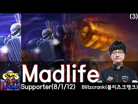 Madlife danh bất hư truyền với Blitzcrank