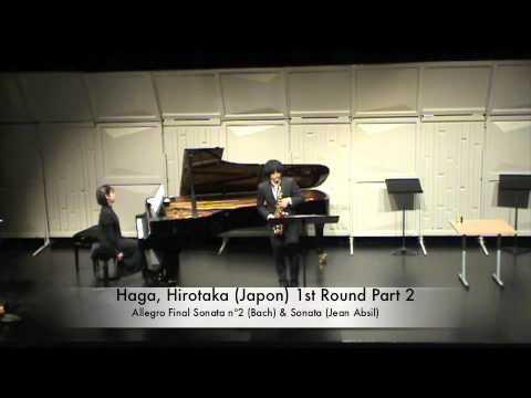 Haga, Hirotaka (Japon) 1st Round Part 2