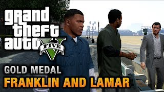 GTA 5 Intro & Mission #1 Franklin And Lamar [100% Gold
