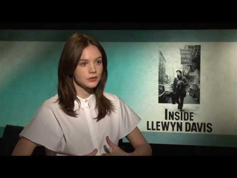 Inside Llewyn Davis: Carey Mulligan Official Movie Interview