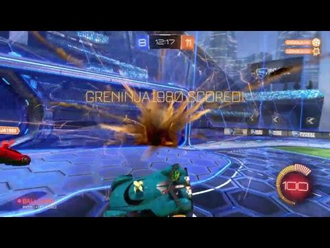 Rocket league with greninja gameplay