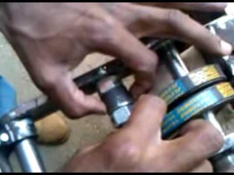 como hacer una sierra de banco inclinable parte 1