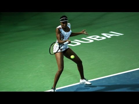 2014 Dubai Duty Free Tennis Championships Day 1 WTA Highlights