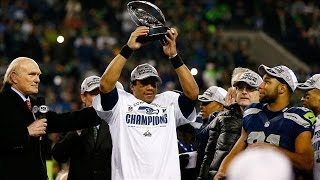 Seattle Seahawks Arrive in New York | Super Bowl XLVIII
