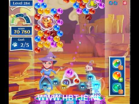 Bubble Witch Saga 2 level 284