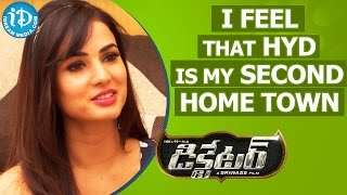I Feel That Hyderabad Is My Second Home Town - Sonal Chauhan