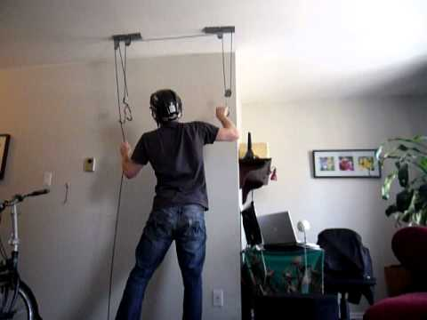 Bicycle storage solutions for small living spaces ceiling and wall mounting systems youtube - Bike storage for small spaces image ...