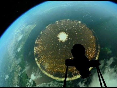 3000 Mile Wide Disc Caught By ISS?
