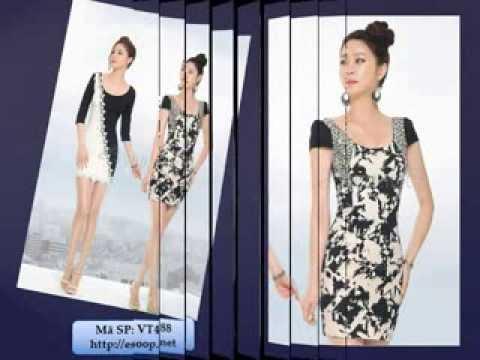Váy dự tiệc thiết kế cao cấp Hàn Quốc 2013 - Esoop.net