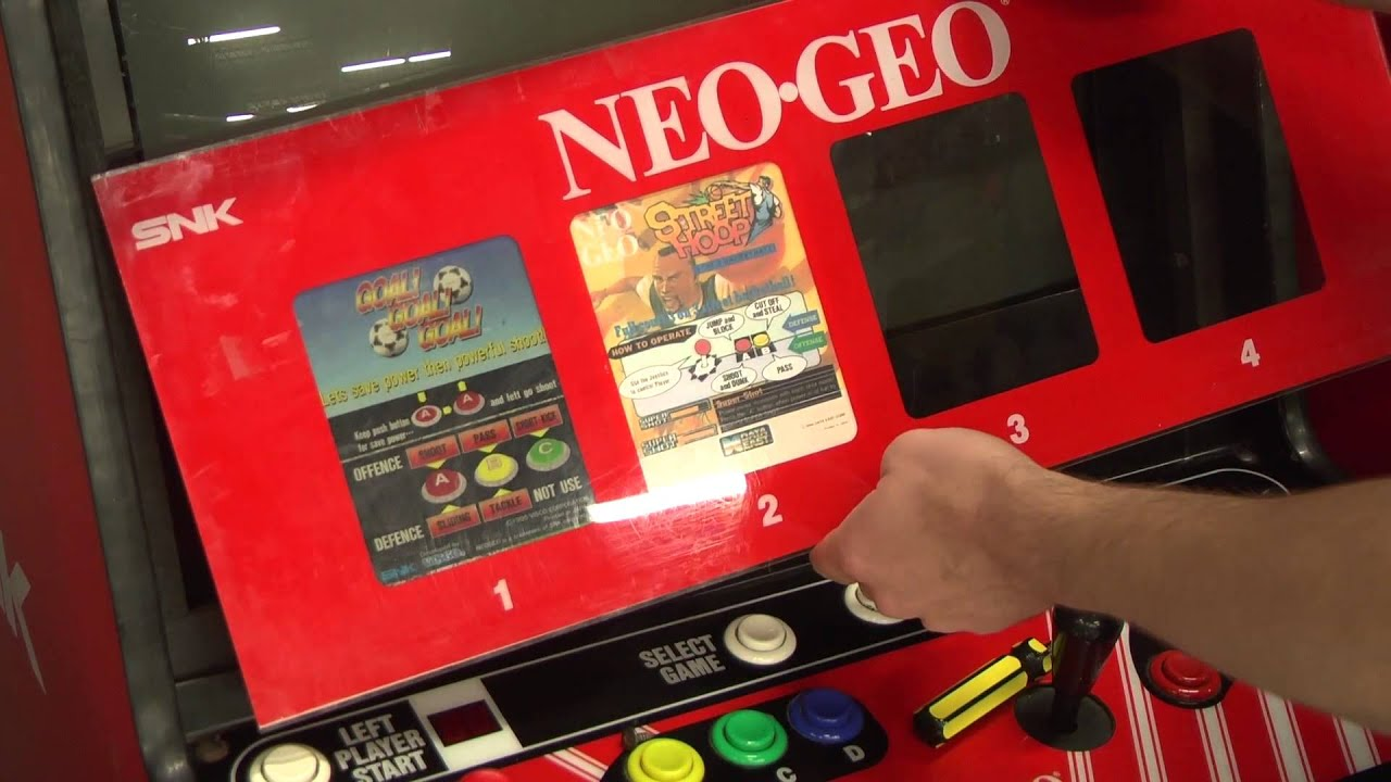 Classic Game Room Neo Geo