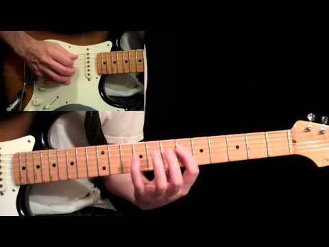 Eric Johnson - Manhattan Guitar Lesson Pt.7 - 2nd Solo