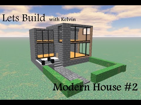 Roblox Lets Build Modern House 2 YouTube