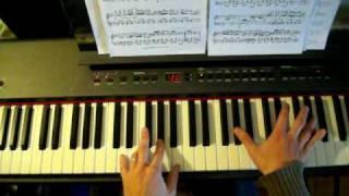 SCOTT JOPLIN MAPLE LEAF RAG PIANO TUTORIAL PART 4