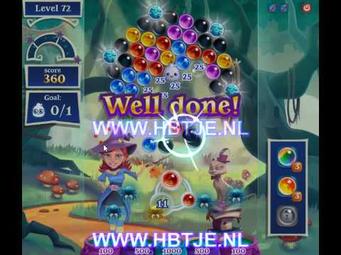 Bubble Witch Saga 2 level 72