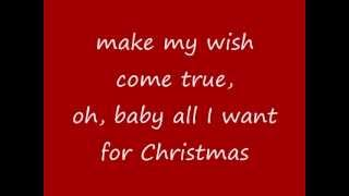 Mariah Carey All I Want For Christmas Is You (lyrics On