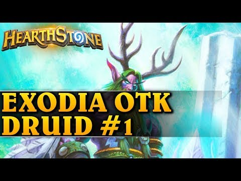 EXODIA OTK DRUID #1 - Hearthstone Decks wild