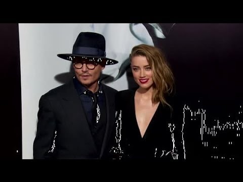 Johnny Depp and Amber Heard Thrill the Red Carpet