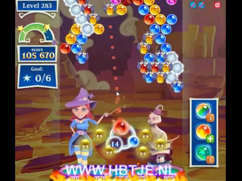 Bubble Witch Saga 2 level 283