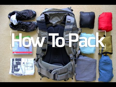 Travel Tips: How to Pack Clothes