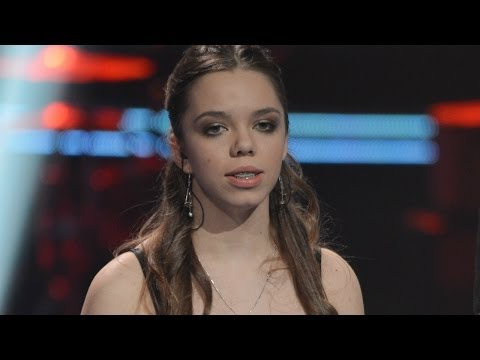 """The Voice of Poland - Monika Szostak - """"For Once In My Life"""